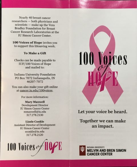100 Voices of Hope – My Champagne Creations
